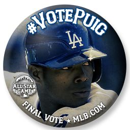 I just voted to send Yasiel Puig to the 2013 #ASG! Help him win the Final Vote!