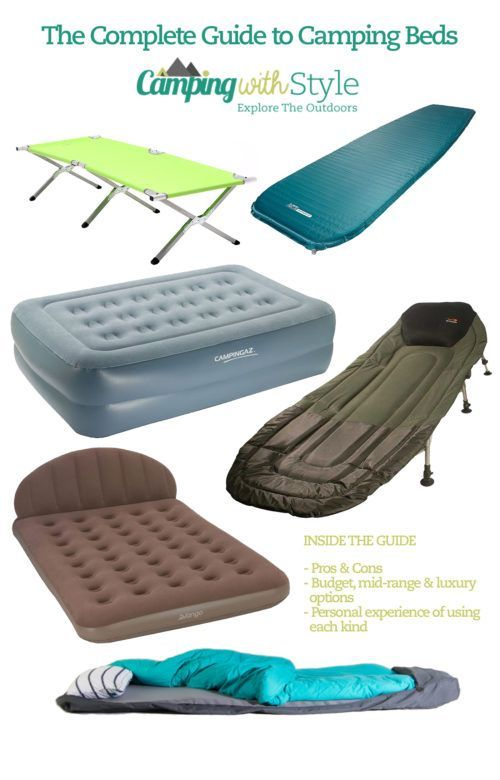 Best 25 Tent Camping Beds Ideas On Pinterest Camping