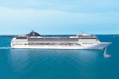 MSC Magnifica is the latest 'Musica-class' luxury cruise ship from MSC Cruises.
