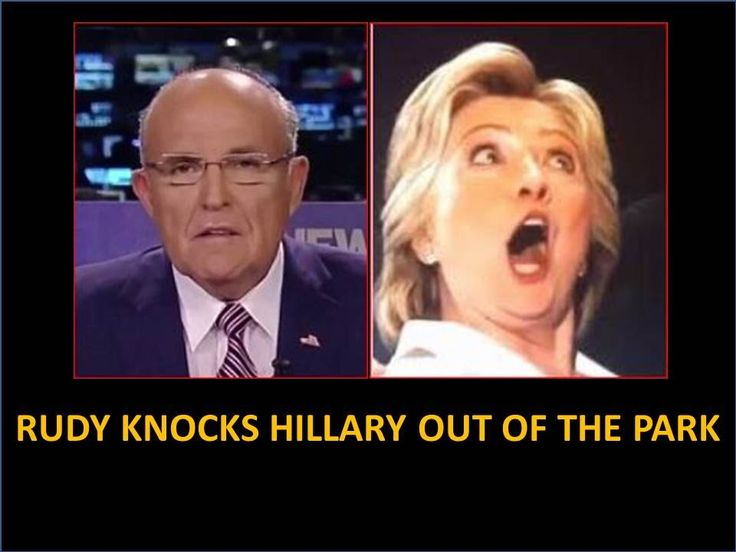 Giuliani Crushes Hillary! Demands Indictment! Disgusted With Clinton Cor...