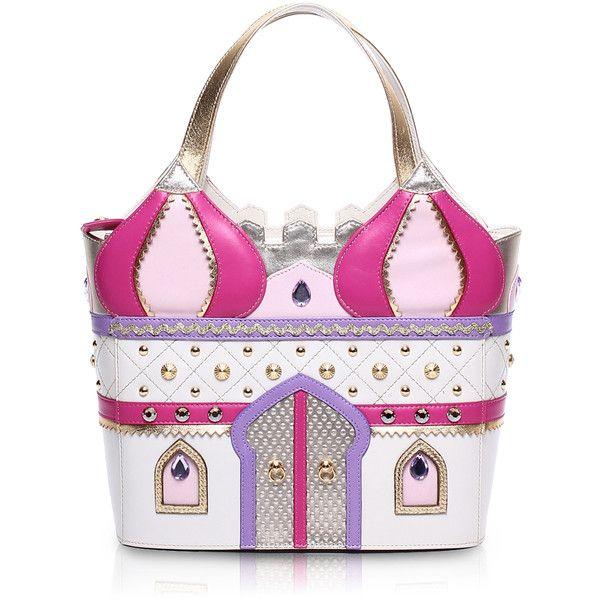 castello della principessa braccialini (31.765 UYU) ❤ liked on Polyvore featuring bags