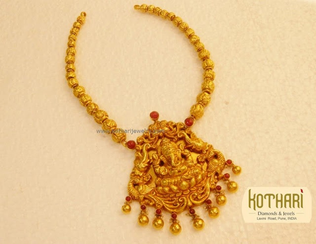 Indian Jewellery and Clothing: Divine Temple jewellery from Kothari Jewellers