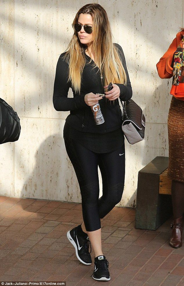 Khloe Kardashian + Workout Outfit | FASHION | Pinterest | Posts Love It And Style