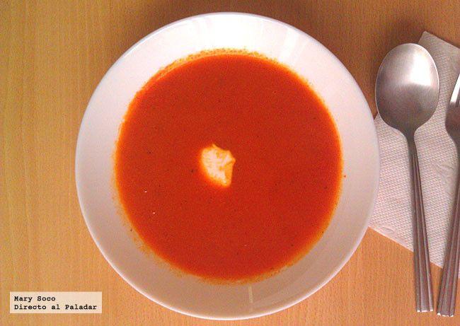 Cuando uno piensa en sopa, regularmente le viene a la mente una sopa de pasta, tipo fideo, letras, estrellitas o la rica sopa de verduras a la que ...