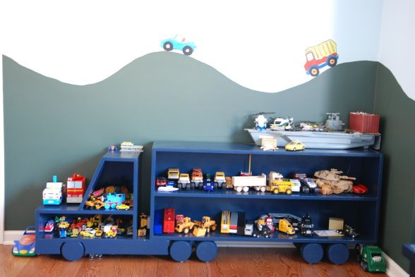 toddler car room ideas | Adam's room, cars and trucks - perfect room for toddler boy, , Boys ...