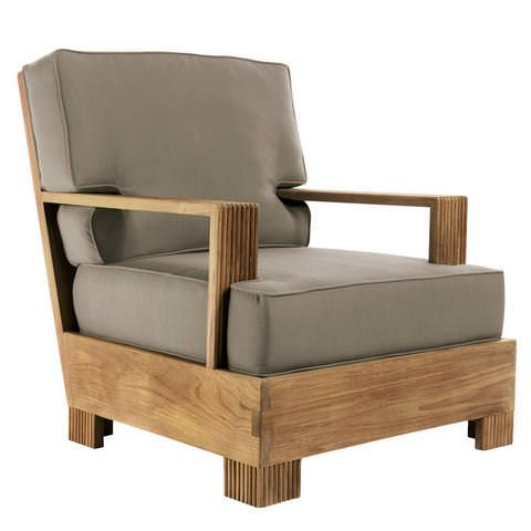 Great new pieces at Sutherland!  Perfect for summer! Reeded Lounge Chair // David Sutherland by John Hutton