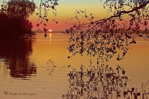 Po river, Italy