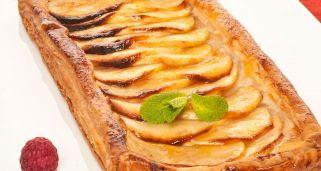 Receta de Tarta de manzana para enamorar