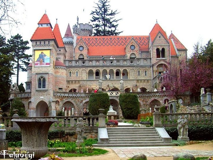 Bory Castle in Székesfehérvár, Hungary This castle was built by Jenő Bory who worked on this building from1923-1964 :)
