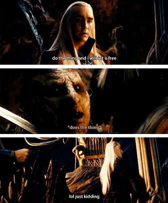 """Because lol elf jokes. 