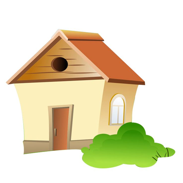 Free download high quality cartoon house png transparent