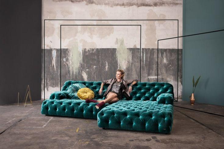 Das Wohnzimmer verschönern mit Sofa Napali von Bretz ...