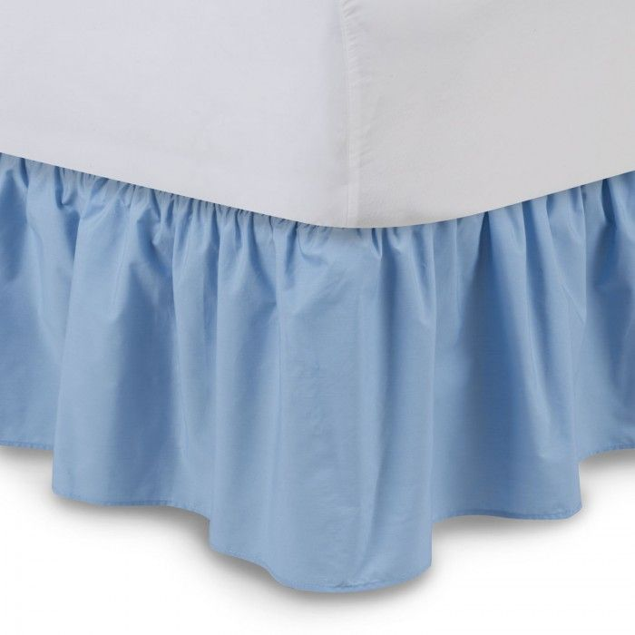 Solid Ruffled Bed Skirt - BED SKIRTS - BEDDING ACCESSORIES   ShopBedding.com
