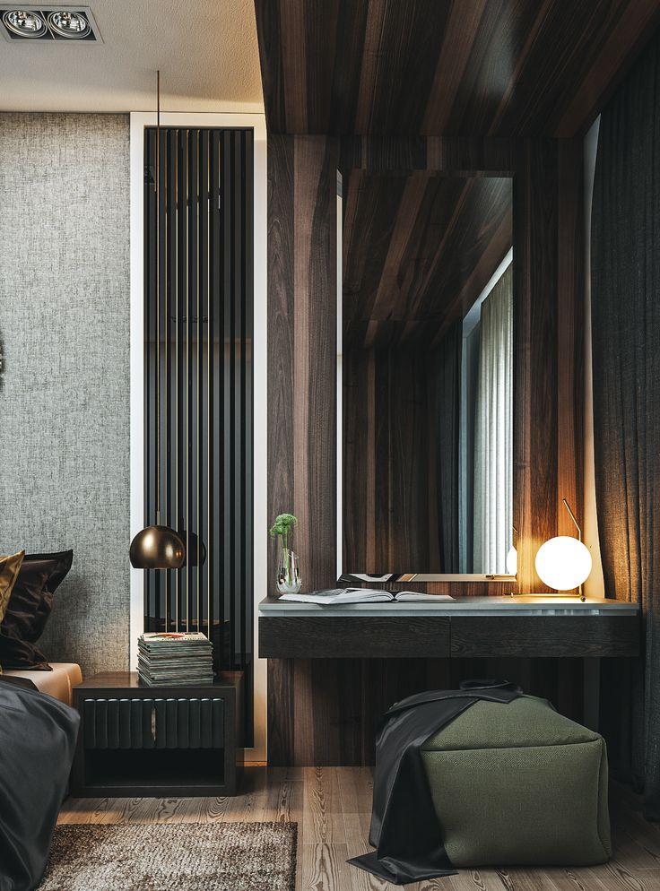 Bedroom 01 on Behance