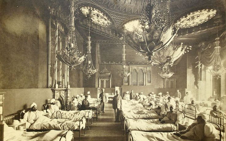 How Brighton Pavilion became a temporary hospital for Indian soldiers in WW1 During the First World War, Brighton Pavilion was turned into ...