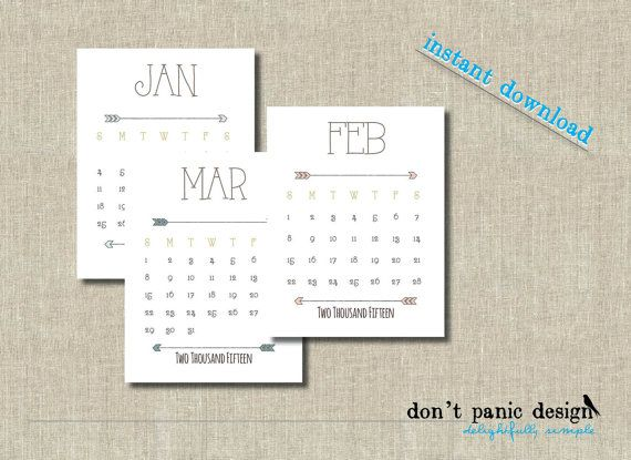 71 best Calendar images on Pinterest | Desk calendars, Printable ...