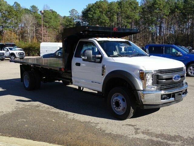 2019 Ford F 550 Xl 16ft Flatbed Dump 2019 Ford Vehicle