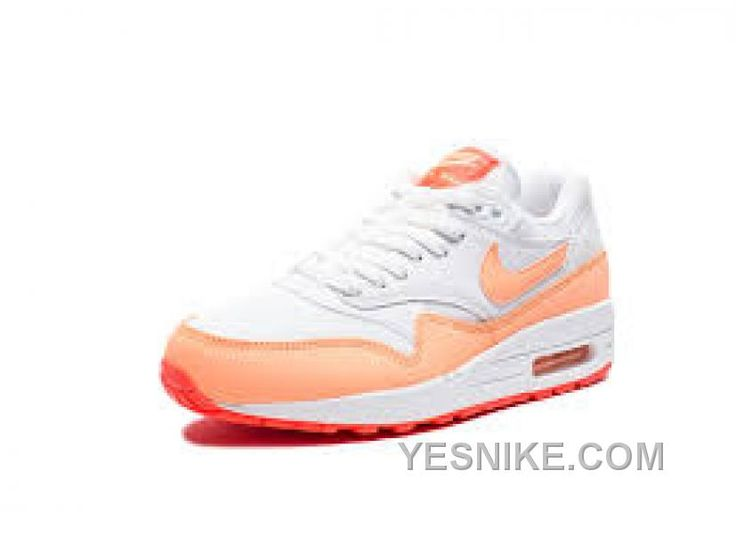 Big Discount  66 OFF Nike Air Max 1 Womens Orange Black Friday Deals 2016XMS1591