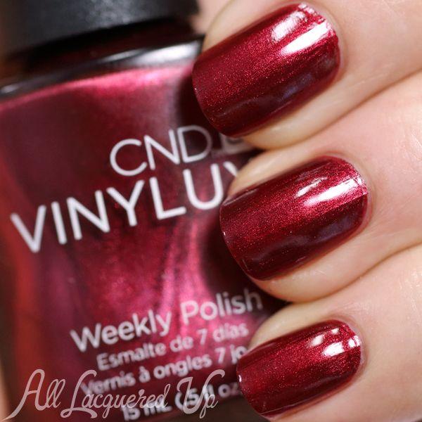 Crimson Nail Polish: CND Modern Folklore For Fall 2014