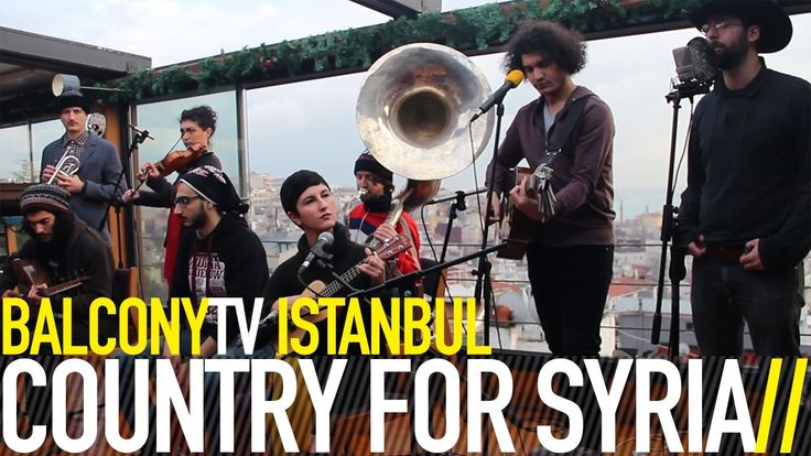COUNTRY FOR SYRIA - BRAVE AS A PIGEON (BalconyTV)
