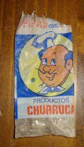 Pipas Churruca. La bolsa se abría con los dientes ;-)