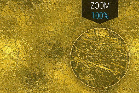 Golden Foil Seamless HD Texture  @creativework247