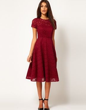 modest lace dress