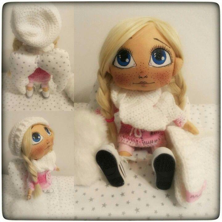 My new handmade doll Amálka 😍