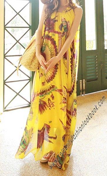 Bohemian Beach Dress - Maxi Dresses - TeenFashion  US$49.99  Free shipping worldwide  #fashion #maxidress #teens #teenfashion #girl #casual #dress #summer #beach