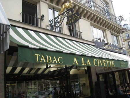 Cigar Inspector | Where to buy (and smoke) cigars in Paris? http://www.cigarinspector.com/other/buying-cigars-in-paris-a-la-civette