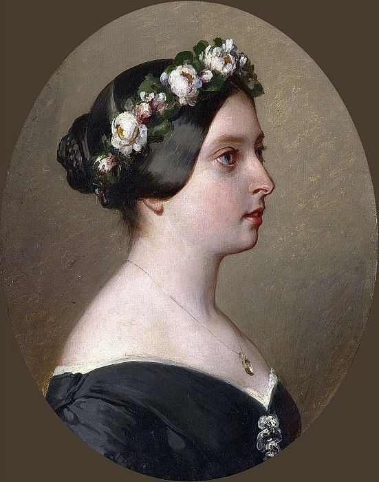 Королева Виктория (1819-1901). Франц Ксавьер Винтерхальтер.