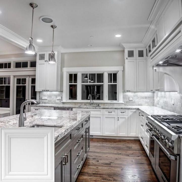 Kitchen Islands Las Vegas Kitchen Cabinet Design Grey Kitchen Cabinets White Granite Countertops