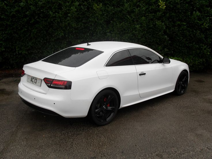 White Audi A5 Black Rims Find The Classic Rims Of Your