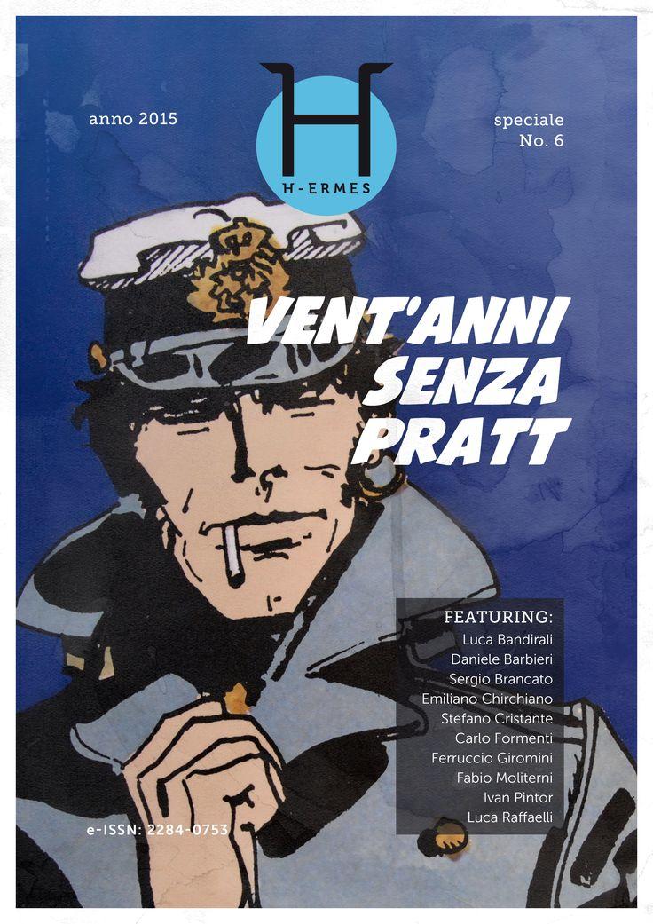 """H-ermes. Journal of Communication unisalento.it ESE #Cover by Giulio Guarini #Vent'anni senza #Pratt #fumetti #Corto #Maltese """"VENT'ANNI DI PRATT"""" goo.gl/XJ0uNc"""