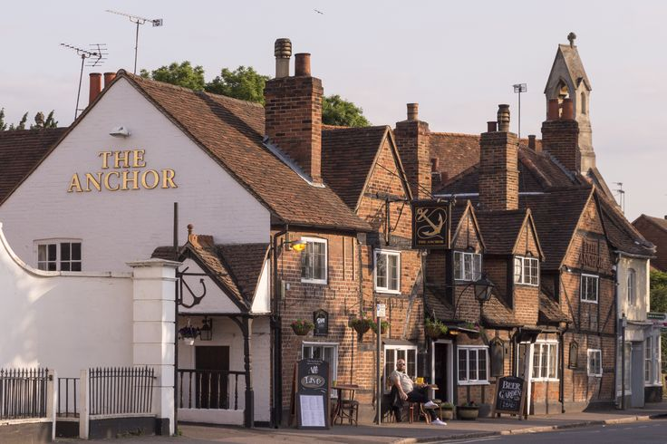 The Anchor in Ripley, Surrey serves amazing food - lots of our guests recommend it too!