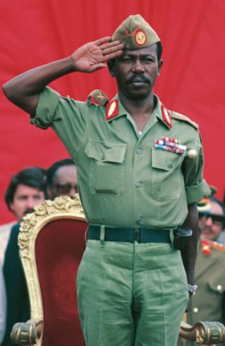 Mengistu Haile Mariam - President of Ethiopia.still lives in Harare, Zimbabwe and remains there despite an Ethiopian court verdict finding him guilty in absentia of genocide. Estimates of the number of deaths for which he was responsible range from 500,000 to over 2,000,000