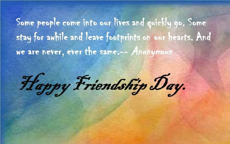Friendship Day photos