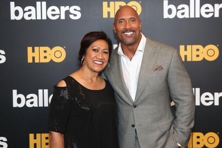 Fun Fact: Dwayne Johnson and his mom