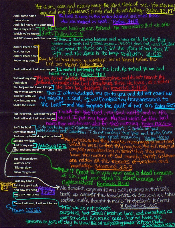 Holy song lyrics <3 THIS IS SO COOL!!