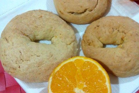 Taralli all'arancia, senza uova, latte e burro