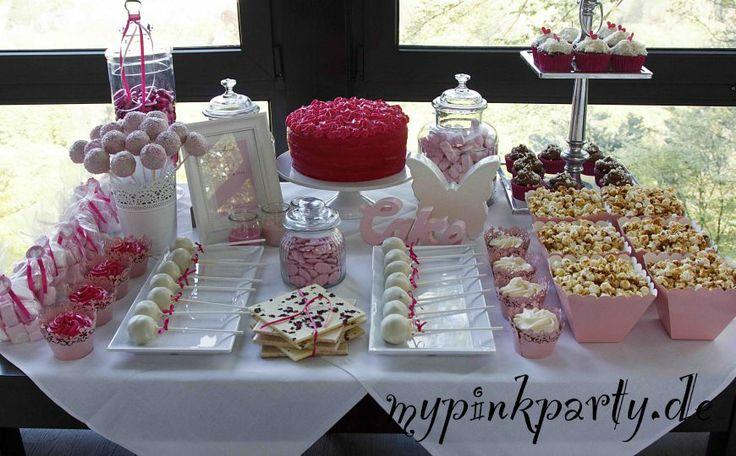 Hochzeitstisch Pink - MyPinkParty.de