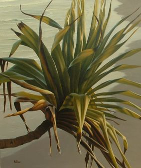 Want to learn to paint gorgeous pandanus trees like this one??  Come along to Lennox Head Saturday 16th June for Mark Waller's workshop or check out www.explore-acrylic-painting.com/workshops.html for more info!