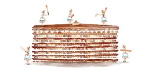 La torta gigante de Paula