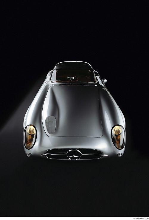 """pinterest.com/fra411 #classic #car - 1955 Mercedes 300 SLR """"Uhlenhaut"""""""