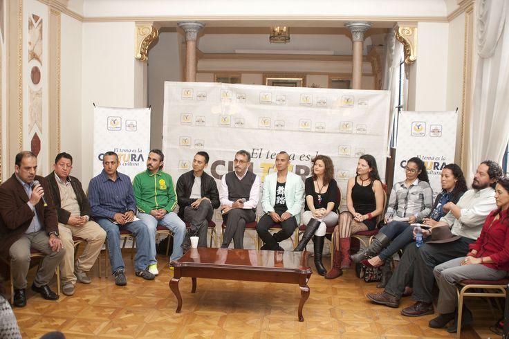 Teatro en Plazas Públicas, Teatro en tu barrio (Conferencia). Foto: Octavio Nava.