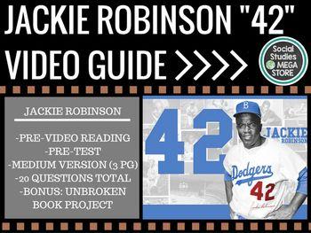 42 Jackie Robinson Movie Guide - Medium Version