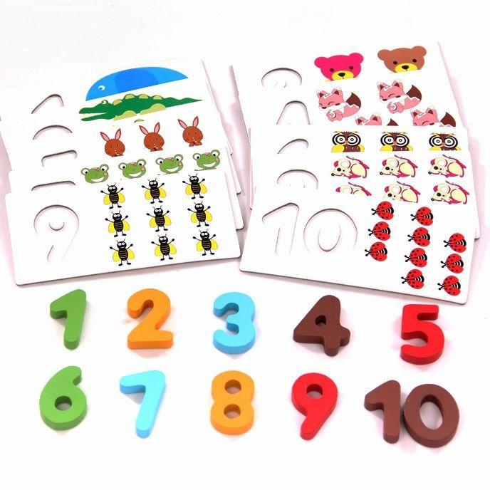 Montessori matematika, v akci cca 288 Kč #hračky #tvoření #děti #rodina #3dmámablog.cz #aliexpress #montessori