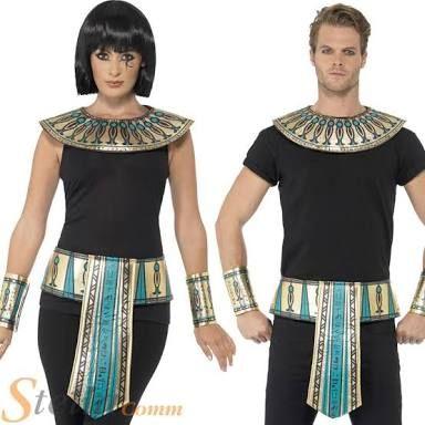 Resultado de imagen para disfraz egipcio casero