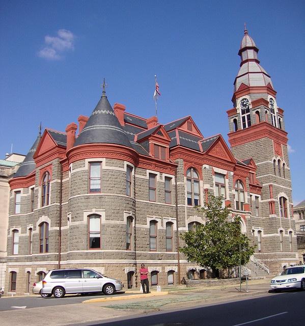 Pulaski County Courthouse - Little Rock, Arkansas