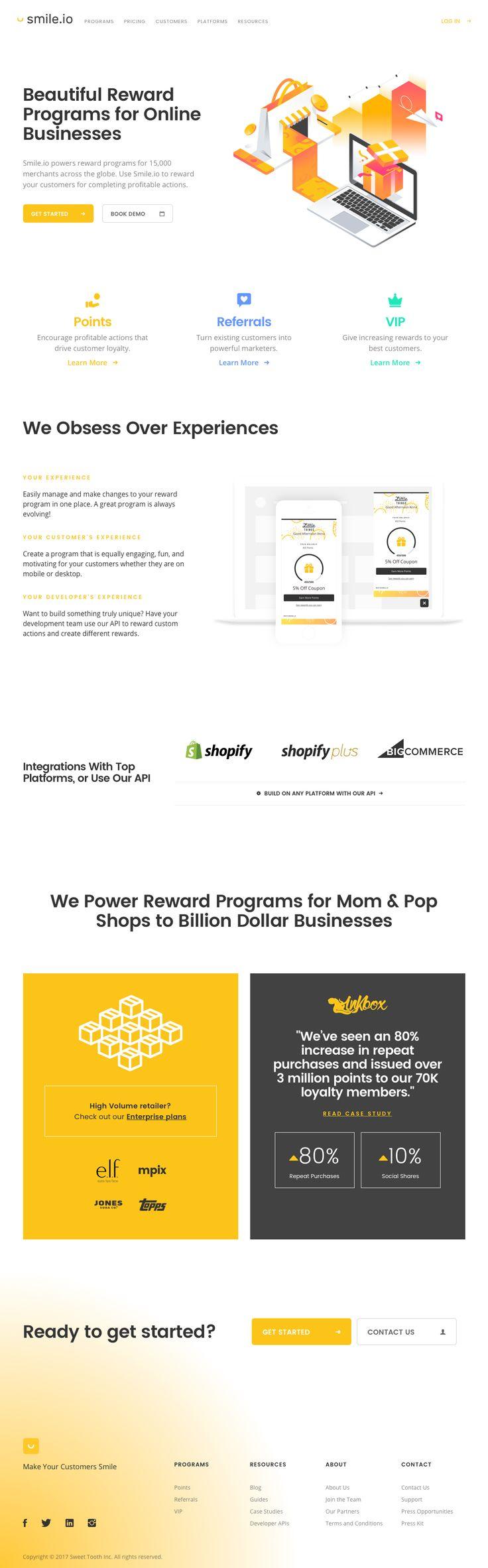 Smile.io - Reward Programs for eCommerce